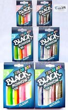 Color Box FIIISH BLACK MINNOW №1,№2 & №3 Special Selection Natural & Flashy