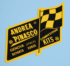 VESPA SCOOTER retro 'Andrea Pinasco' competition kits stickers decals 1 pair
