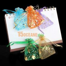 50pcs Lot Organza Jewelry Candy Pendent Wedding Party Favor Mini Gift Pouch Bags
