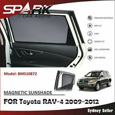 MAGNETIC CAR WINDOW SUN SHADE REAR DOOR FOR TOYOTA RAV-4 RAV4 2009-2012 SP