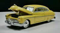 1949 Mercury Sedan 1/64 Scale Diorama Car Rare Real Riders Whitewall Tan