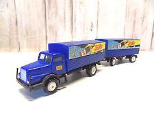FA 33) camion oldtimer IFA + REMORQUE PEPSI COLA  train electrique HO 1/87