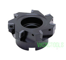90Deg D80mm Right-angle Face Milling Cutter for SPLT1204 Square Insert SFM80-1""