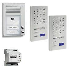 TCS Sprechanlage Türsprechanlage homepack 2 Wohneinheiten Freisprechen PSC2220