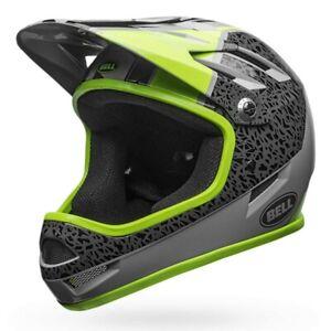 Bell Sanction Full Face helmet. Bike bmx Mountain Downhill Large cost £90