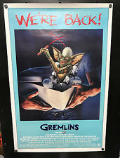 Original 1984 GREMLINS re-release One Sheet Rolled Movie Poster ~ Beauty!