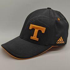 ADIDAS Tennessee Volunteers Vols NCAA Basketball Logo Hat Flexfit Cap Black