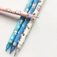 Lovely Cat 8pcs Cute Cat Automatic Pencil Writing School Office Kids #E99Z