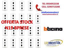 STOCK N19 BTICINO MATIX PRESA AM5180 PRESA 16A BTICINO MATIX 15+4 compat OMAGGIO
