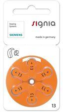 Siemens Talla 13 Mercurio Libre Audífono Baterías Células x60 (Nuevo Embalaje)