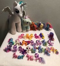 My Little Pony LARGE LOT of 30 Ponies Horses Figures And Plush