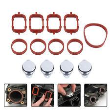 4x 22mm Diesel Swirl Flap Blank Bungs Manifold Gaskets For BMW M47 E46 320d 330d