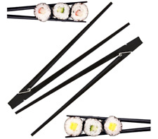 Clothespin Chopstick Black For Beginners 9 Inches 2 Pieces