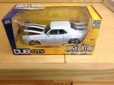 Jada Toys Dub City BIG TIME MUSCLE 1969 Camaro WHITE / 1/24 Scale