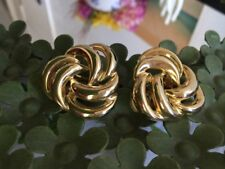 Vintage brand new PAOLO Gucci large clip earrings
