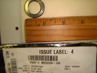 New Military Split Lockwashers MS35338 / 316 Stainless Steel lot  of 114