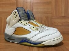 RARE🔥 Nike Air Jordan 5 V Stealth White Sport Royal Sz 11 136027-142 3M '06 LE