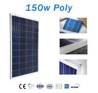 Panel Solar 150W Policristalino 12v 36 celulas Ideal para instalaciones 12v