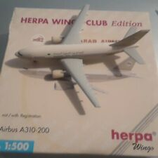 1:500 herpa wings  Lybian Airlines  A 310