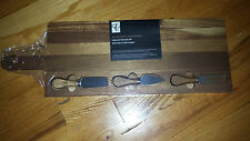 Cheese board set with knifes, Acadia wood, brand new.  Priced to go!