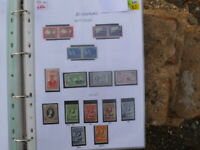 BECHUANALAND PRE DECIMAL 17 STAMPS  MINT & USED