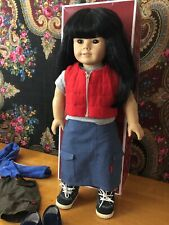 American Girl Just Like You Asian 4 Pleasant Co.749/76 w/2 Outfits/2pairs Shoes