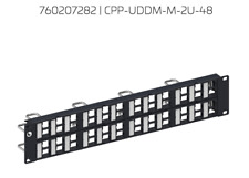 48 Port CommScope Rack Mount Discrete Distribution Module Panel **New**