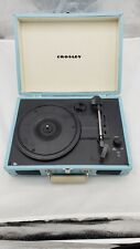 Crosley record player bluetooth Portable Teal blue