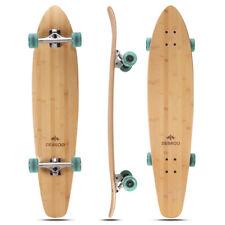 New listing DEBROO 42 inch Bamboo Longboard for Beginners