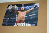 WWE SMACKDOWN CHAMPION AJ STYLES SIGNED AUTO 8X10 PHOTO A.J STYLES RARE POSE 2