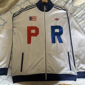 Adidas Olympics warm up track jacket Puerto Rico  xlarge RARE Trac2-4