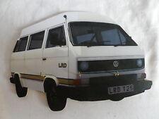 WHITE T25 CLASSIC VW CAMPER VAN WALL HANGING KEY RACK. NEW. KEYRACK.
