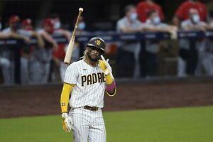Fernando Tatis Jr Unsigned bat flip 8x10 photo Padres superstar!