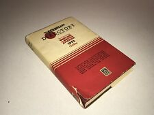 Aeroplane Directory of British Aviation - 1952 Edition Aviation Book HC/DJ