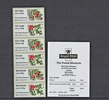 WINTER GREENERY 2017 POSTAL MUSEUM R17AL COLLECTOR STRIP Post & Go
