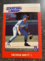 George Brett Royals 1988 Starting Lineup CARD ONLY NEAR MINT