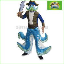 Skylanders Wash Buckler Kids Pirate Octopus Boys Costume 5-7 Years Medium