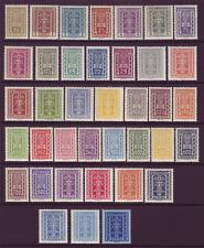 Briefmarken Österreich 1918-1944 Ank 395** 2000 Kronen Blau Viererblock Top-postfrisch Hoher Katalogwert 104 Euro