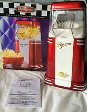 Air Popcorn Maker Popper Retro 50's Style Red Nostalgia Brand Electronics