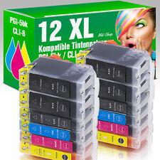 12 Druckerpatronen für Canon MP 610 mit Chip