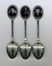 Twilight 3 Silver Plated Spoons Featuring Twilight
