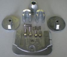 Mercruiser Bravo III 3 Zinc Anode Kit NEW DEALER DIRECT Military Grade Zinc