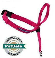 PetSafe Gentle Leader Head Collar Raspberry w/ DVD All Sizes