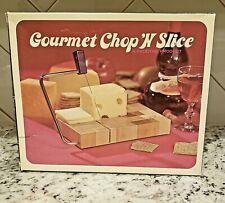 Prodyne Gourmet chop n slice Cheese Slicer. Vintage in box