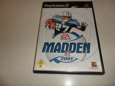 PlayStation 2 PS 2 madden nfl 2001