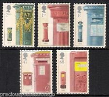 GB MNH STAMP SET 2002 POST / PILLAR BOXES SG 2316-2320 UMM