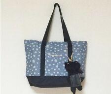 NEW JAPAN Tsumori Chisato LARGE Shopping Shoulder Tote Bag with CAT Card Holder