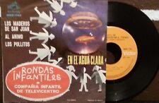 """COMPAÑIA INFANTIL DE TELEVICENTRO, RONDAS INFANTILES MEXICAN 7"""" EP PS CHILDREN"""