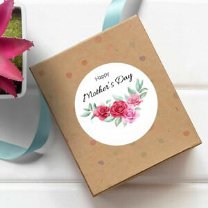 Mother's Day Gift Stickers Floral Shop Product Packing Business Flower Labels
