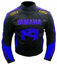 YAMAHA R 1  MOTORBIKE RACING LEATHER JACKET CE APPROVED